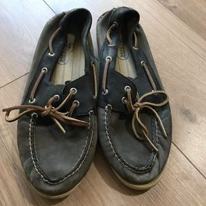Men's Sperry Top Sider Slip on Boat Shoes 10.5
